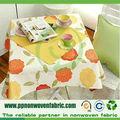 tecido não tecido para toalha de mesa