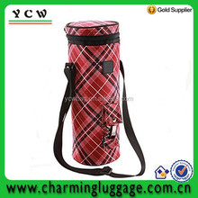 Insulated wine tote bag wholesale/cooler bag for wine