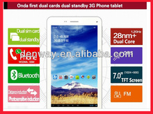 "Onda V719 3G 8GB WIFI 7 "" GPS phone calling tablet PC, 3G phone + dual card dual standby"
