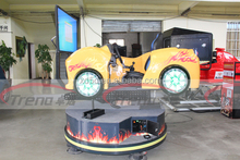 3d movies racing car for game machine racing cars