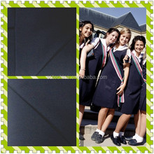 "T/R School Uniform Fabric - T/R 65/35 32/2*32/2 81*47 57/58"" 1/1 plain- 2015 hot sale textile"