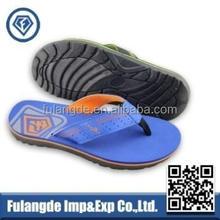 2015 good quality new pvc beach flip flops for men