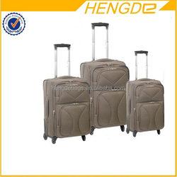 High quality stylish wheeled trolley luggage bag parts