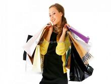 Guangzhou Exported Price Good Quality Fashion Bag Women,Custom Fancy Paper Bag