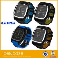 dual sim wrist smart watch phone ce rohs android waterproof ip67