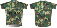 2015 TEAM race and club cycling wear, short sleeve Custom cycling jersey Camouflage