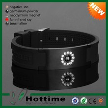 HOT SELL Negative Ion Magnetic Custom Power Band