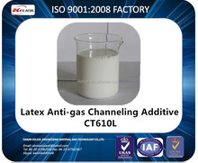 Oil well cementing chemical latex anti-gas channeling additive liquid CT610L