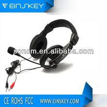 2014 Waterproof headband SM-750B airplane headphone adapter