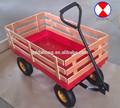 Cerca de madeira carrinho de vagão tc1801, base de plástico