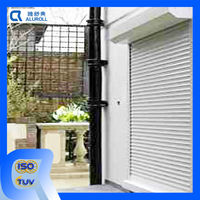 motorized control system louvers