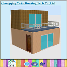 Nice Look Popular Designs Easy Assemble Container Houses