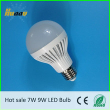 Free sample China manufacturer 9W led e27 bulb lights led