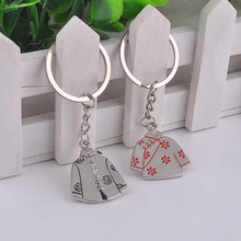 Valentines Day gift couple costume Sweethearts outfit keychain