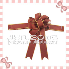 Chocolate/gift packaging grosgrain/satin ribbon bow