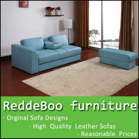 geniune hot sale modern colorful italian leather sofa fashion furniture