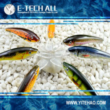 e-tech all ETA02 minnow lures, floating hard plastic saltwater fishing equipments