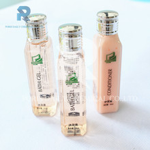 Luxury wholesale bathroom hotel shampoo in colorful bottle