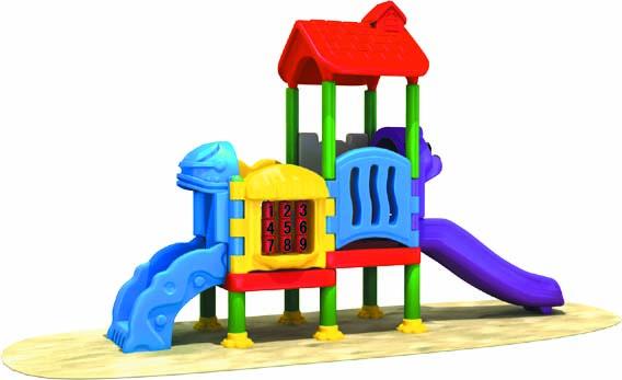 Outdoor Toys Age 4 : Non toxic mini plastic children playground lovely small