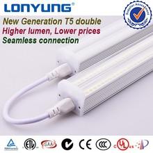 High power energy saving t5 double led light tube 90cm fluorescent lamp best design high lumen