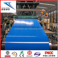 PPGI prepainted GI color coated steel coil for corrugated roofing sheet