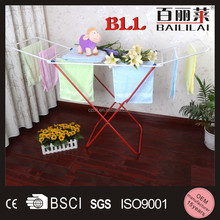 Baililai high quality short-time scarf display stand clothes display stand