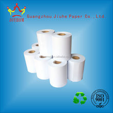 Paperboard cores thermal coated waterproof,greaseproof,antifriction 180gsm paper rolls used in parking lots