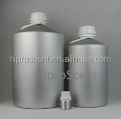 30ml, 50ml, 150ml, 300ml, 500ml, 1000ml, 5L, 10L, and 30L perfume and essential oil aluminum bottle with tamper evident closure