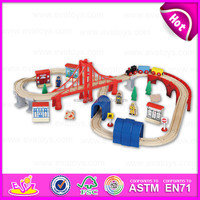 Thomas Railway car Toy for kids,Culture car educational toy for children,wooden toy wooden car toy set for baby W04C009-Z2