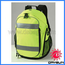 safety reflective Back Pack bag with laptop compartment