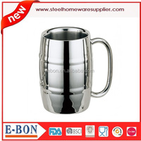 eco friendly sanding finished stainless steel cup