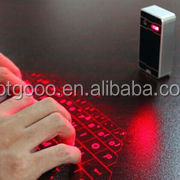 Virtual Laser Projected USB Bluetooth Keyboard Touchpad for Tablet & Smartphone