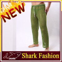 Shark Fashion sexy man pant army green nylon lycra hot pants
