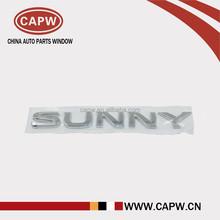 Emblem TRUNK LID for Nissans SUNNY N17 HR15 84895-3AW0A Car Body Parts