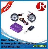 High quality Motorcycle alarm system with FM
