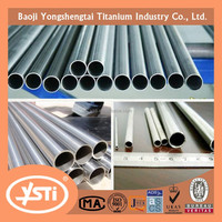 Grade2 Gr2 OD50.8 x THK0.9 x 3000mm Titanium Seamless tube for exhaust pipe in car ASTM B338,ASTM B337,ASTM B861 Best price