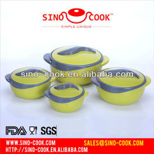 High-end Yellow Stainless Steel Indian Food Warmer