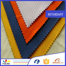 Wholesale twill woven carbon yarn antistatic 100 cotton fire protection fabric for garment