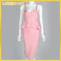 Pink plus size sexy bandage dresses,sexy bandage,elegant bandage dress