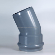 Hot sale different sizes pvc pipes and fittings
