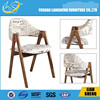 2015 new style hot sale restaurant wood chair A206 hot sale swivel chairs