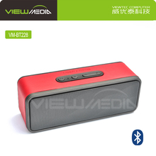 Fashion portable bluetooth speaker for media player with Leather Case VM-BT228