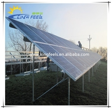 aluminum solar pv mounting system for ground installation