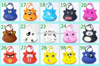 Cute BPA Free fashionable waterproof animal disposable paper baby bib for ages 6-36 months