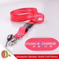 Fashionable free sample custom polyester printed cell phone strap