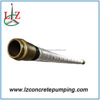 Concrete pump spare parts concrete rubber hose pipe for construction