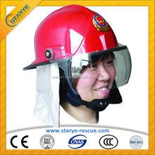 CE Proof Korean Type Helmet for Fire Fighting