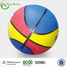 Zhensheng Promotion Rubber High Bounce Ball Basketball