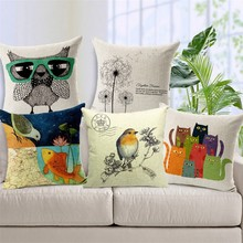 Animal print custom printing Cushion Cover 45x45cm