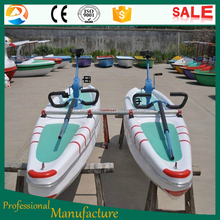 hot sale water park rides adult water bike pedal boats for sale waterbird water bike